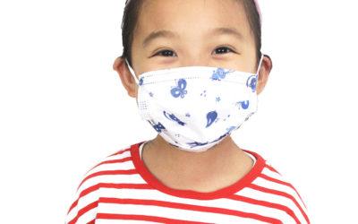 Childrens printed face masks – MOQ 40 Boxes – £28/box 50 masks Army, flower, pretty, boy, girl. 99% filtration